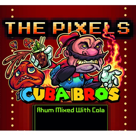 THE PIXELS - AROMA CONCENTRATO 10ML - CUBA BROS