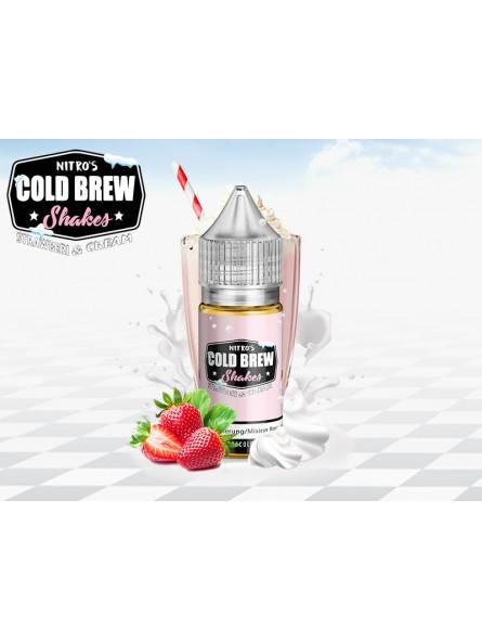 Strawberi & Cream NITRO'S COLD BREW (30ml) Aroma Concentrato
