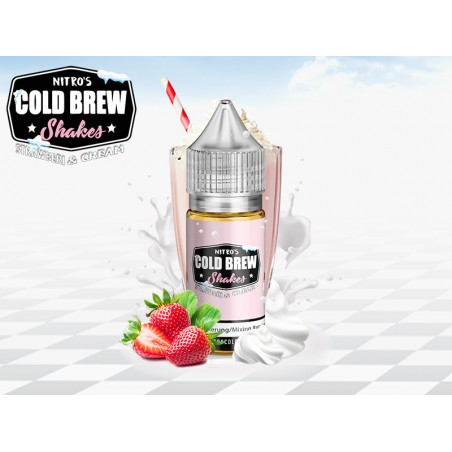 Strawberi & Cream NITRO'S COLD BREW (30ml) Aroma Concentrato