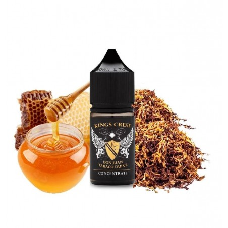 DON JUAN TABACO DULCE KINGS CREST AROMA CONCENTRATO 30ML