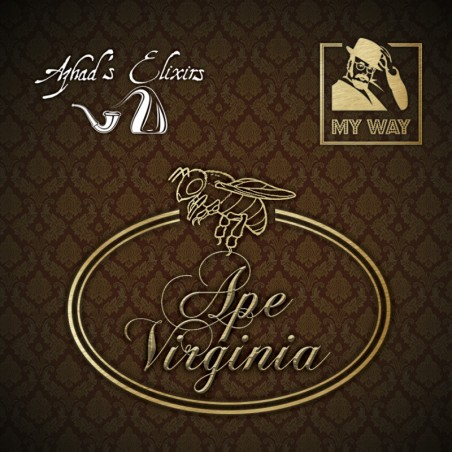 APE VIRGINIA MY WAY Azhad's Elixirs AROMA CONCENTRATO 10ML