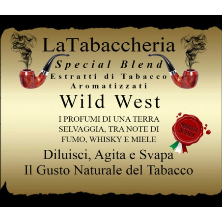 LA TABACCHERIA - AROMA CONCENTRATO 10ML - Special Blend – Wild West