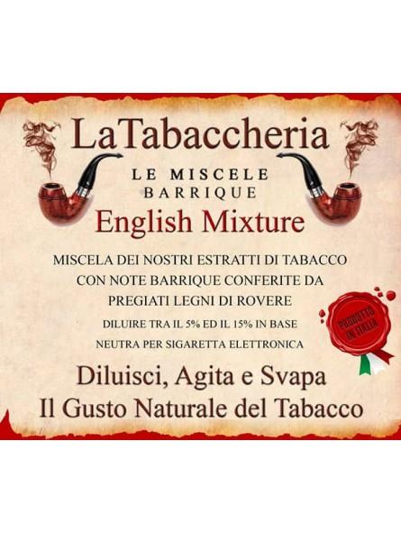Miscela Barrique English Mixture LA TABACCHERIA AROMA CONCENTRATO 10ML