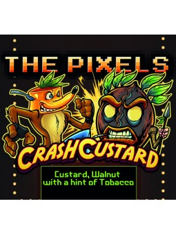 CRUSH CUSTARD THE PIXELS AROMA CONCENTRATO 10ML