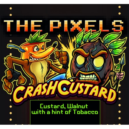CRASH CUSTARD THE PIXELS AROMA CONCENTRATO 10ML