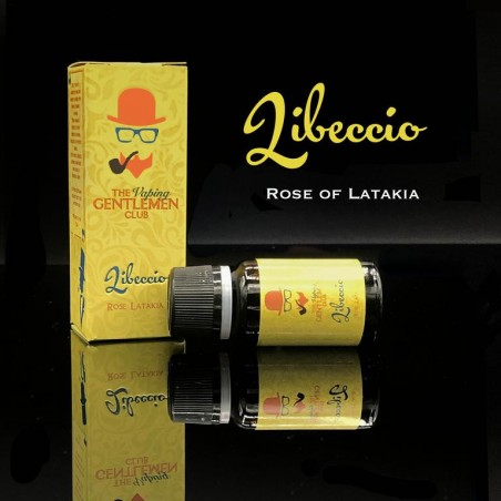 LIBECCIO - ROSE OF LATAKIA THE VAPING GENTLEMAN CLUB AROMA CONCENTRATO 11ML
