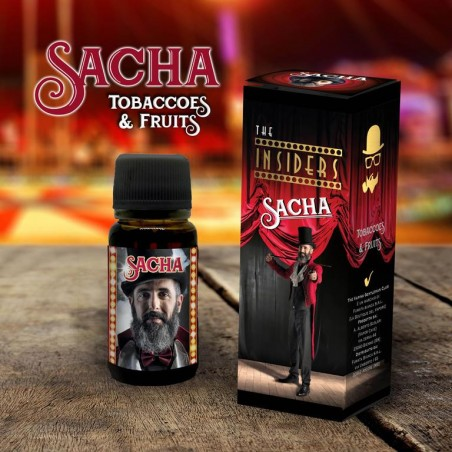 THE VAPING GENTLEMAN CLUB - AROMA CONCENTRATO 11ML - THE INSIDERS - SACHA