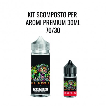 THE PIXELS - KIT  70/30 PER AROMI 30ML (70VG/30PG)