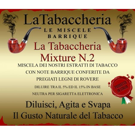 LA TABACCHERIA - AROMA CONCENTRATO 10ML - Le Miscele Barrique - Mixture N.2