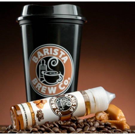 SALTED CARAMEL MACCHIATO BARISTA BREW CO. MIX&VAPE 50ML