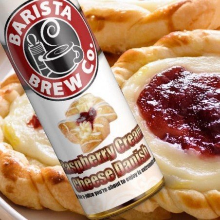 BARISTA BREW CO. - RASPBERRY CREAM CHEESE DANISH - MIX&VAPE 50ML