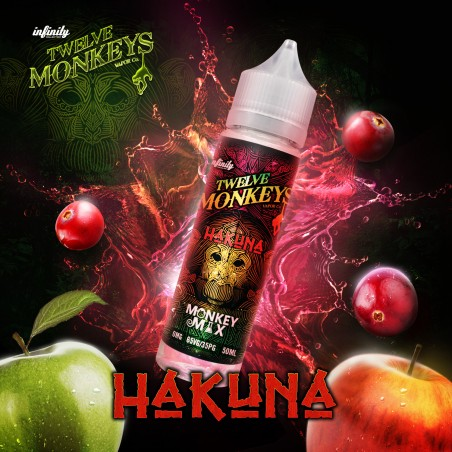 TWELVE MONKEYS - HAKUNA - MIX&VAPE 50ML