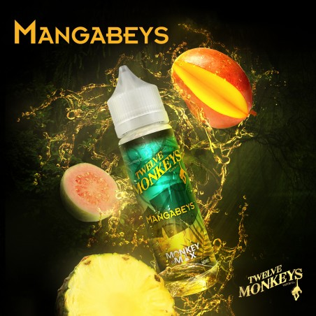 MANGABEYS TWELVE MONKEYS MIX&VAPE 50ML