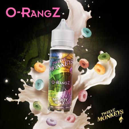 O-RANGZ TWELVE MONKEYS MIX&VAPE 50ML