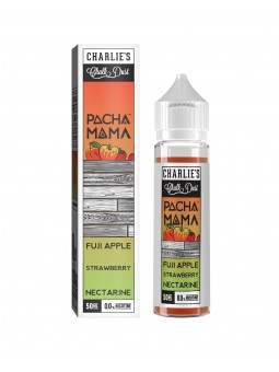 FUJI APPLE STRAWBERRY NECTARINE PACHAMAMA CHARLIE'S CHALK DUST MIX&VAPE 50ML