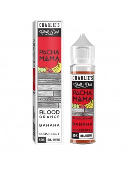 BLOOD ORANGE BANANA GOOSEBERRY PACHAMAMA CHARLIE'S CHALK DUST MIX&VAPE 50ML