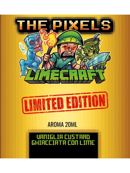 LIMECRAFT LIMITED EDITION THE PIXELS AROMA SCOMPOSTO 20ML