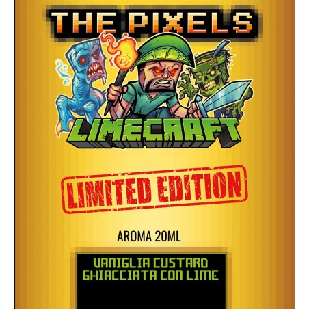 THE PIXELS - AROMA SCOMPOSTO 20ML - LIMECRAFT LIMITED EDITION