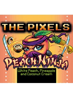 THE PIXELS - AROMA CONCENTRATO 10ML - PEACH NINJA