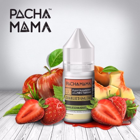 Fuji Apple Strawberry Nectarine Pacha Mama CHARLIE'S CHALK DUST 30ml Aroma Concentrato