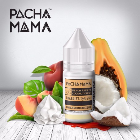 CHARLIE'S CHALK DUST - Aroma Concentrato 30ml - PACHAMAMA - Peach Papaya Coconut Cream