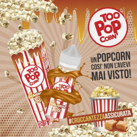 TOO POP CORN MIX&VAPE 50ML