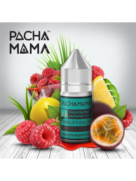 Passion Fruit Raspberry Yuzu PachaMama CHARLIE'S CHALK DUST 30ml Aroma Concentrato