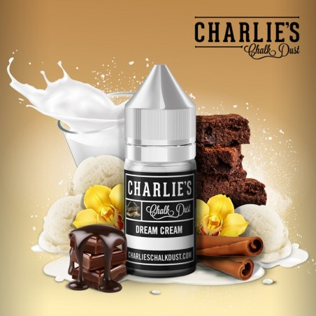 CHARLIE'S CHALK DUST - Aroma Concentrato 30ml - Dream Cream