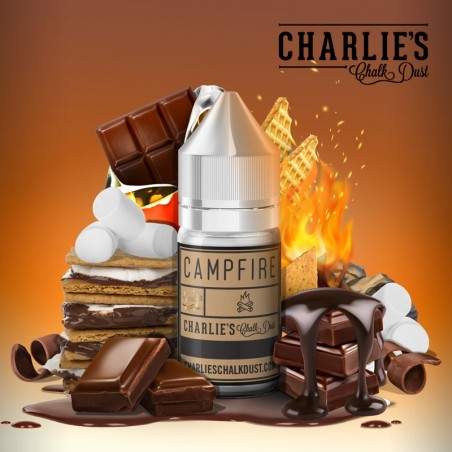 CHARLIE'S CHALK DUST - Aroma Concentrato 30ml - Campfire