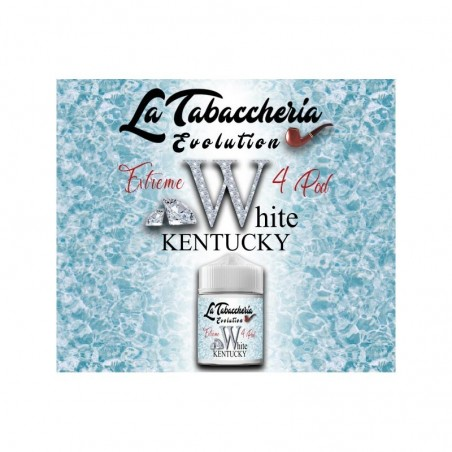 LA TABACCHERIA - AROMA SCOMPOSTO 20ML - EXTREME 4POD - WHITE KENTUCKY