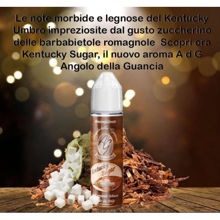 KENTUCKY SUGAR - ORGANICO - MICROFILTRATO - AdG SHOT SERIES 20ML