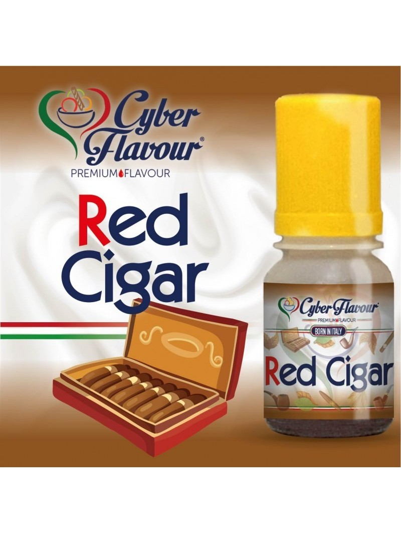 RED CIGAR CYBER FLAVOUR  AROMA CONCENTRATO 10ML