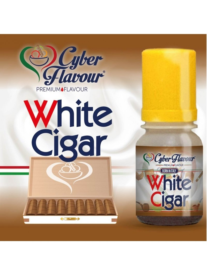 WHITE CIGAR CYBER FLAVOUR  AROMA CONCENTRATO 10ML