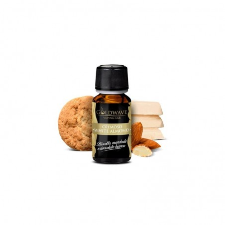 GOLDWAVE - WHITE ALMOND - AROMA CONCENTRATO 10ML