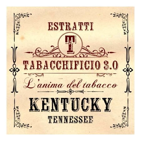 TABACCHIFICIO 3.0 - AROMA CONCENTRATO 20ml - Tabacchi in purezza - KENTUCKY