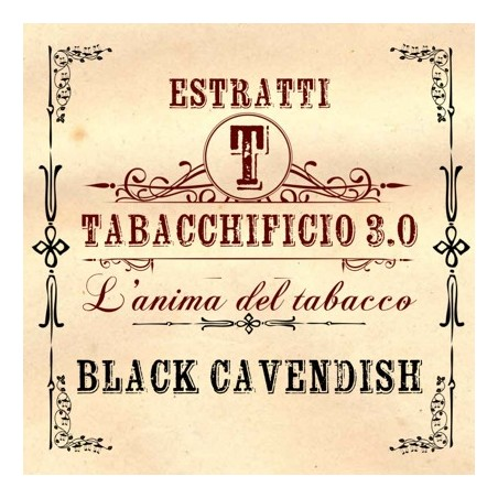 TABACCHIFICIO 3.0 - AROMA CONCENTRATO 20ml - Tabacchi in purezza - BLACK CAVEDISH