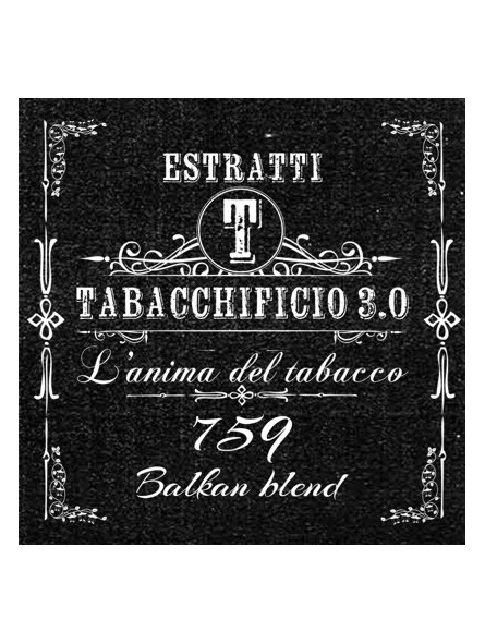 TABACCHIFICIO 3.0 - 759 - Special Blend AROMA CONCENTRATO 20ml