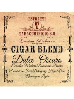 TABACCHIFICIO 3.0 - DULCE OSCURO - Cigar Blend AROMA CONCENTRATO 20ml
