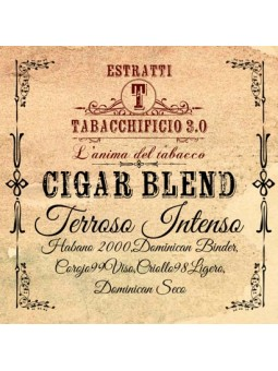 TABACCHIFICIO 3.0 - TERROSO INTENSO - Cigar Blend AROMA CONCENTRATO 20ml