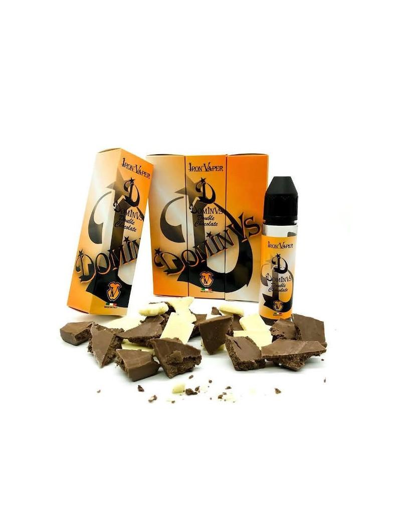 IRON VAPER - DOMINUS DOUBLE CHOCOLATE - AROMA SCOMPOSTO 20ML