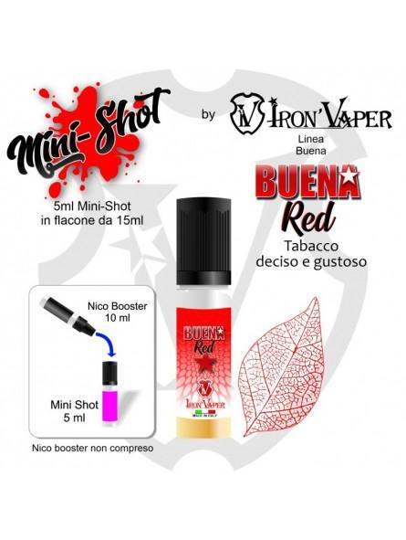 IRON VAPER -MINI SHOT 5+10 - BUENA RED