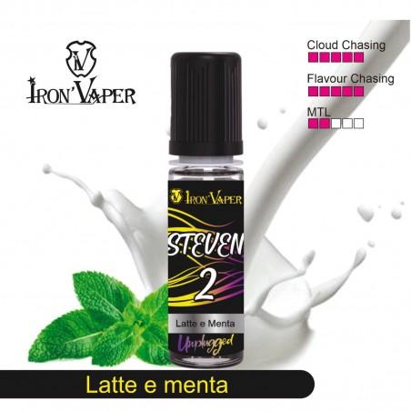 IRON VAPER - AROMA CONCENTRATO 15ML -Steven - Milk This Way (Track 2)