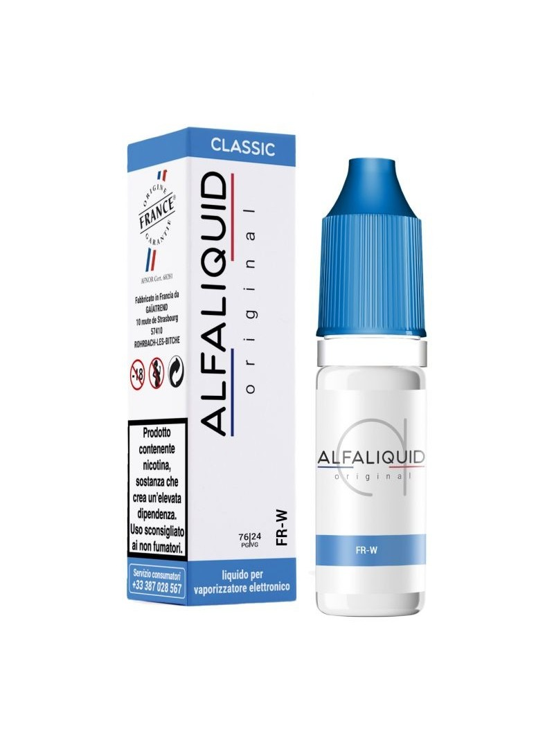ALFALIQUID 10ML - ORIGINAL - TABACCO - FR-W