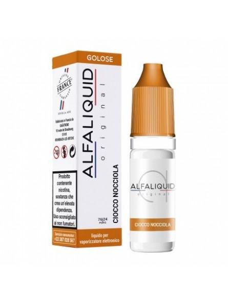 ALFALIQUID 10ML - ORIGINAL - GOLOSI - CIOCCO NOCCIOLA