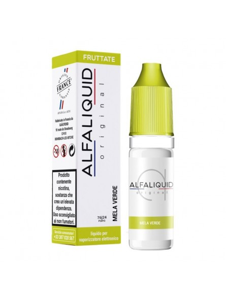ALFALIQUID 10ML - ORIGINAL - FRUTTATI - MELA VERDE