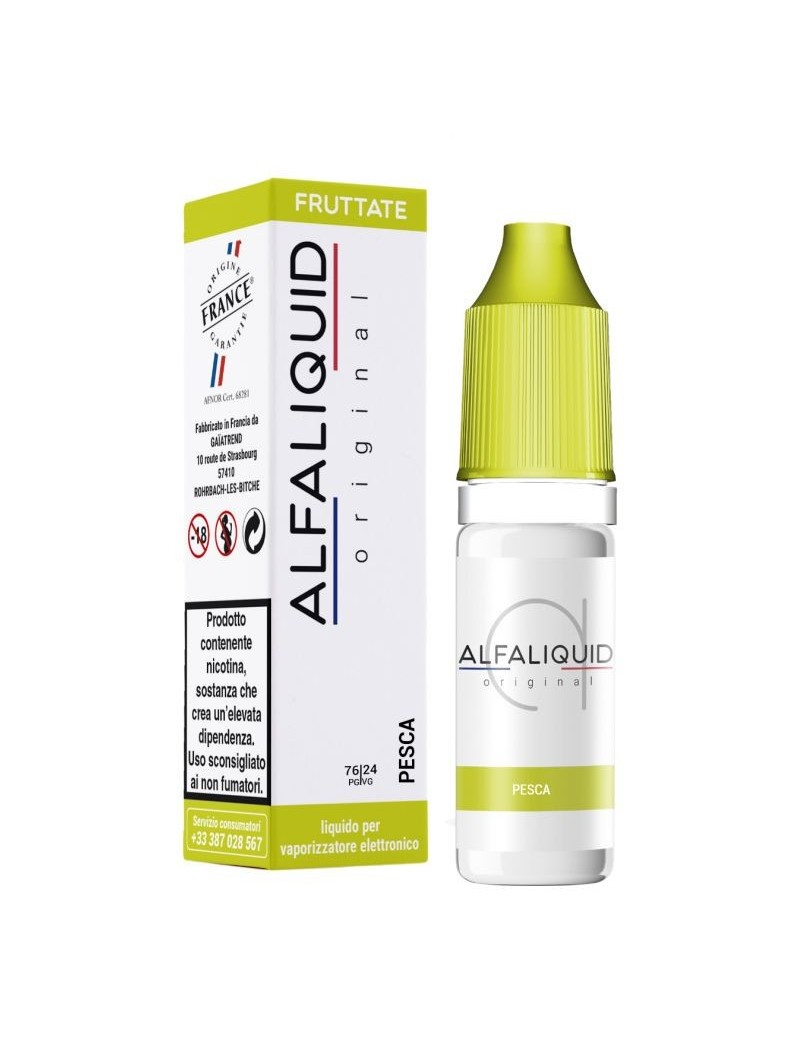 ALFALIQUID 10ML - ORIGINAL - FRUTTATI - PESCA