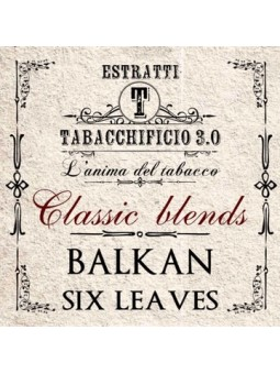 TABACCHIFICIO 3.0 - AROMA CONCENTRATO 20ml - Classic Blends - BALKAN SIX LEAVES