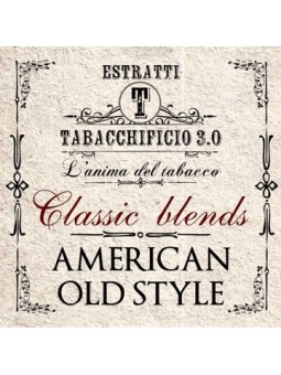 TABACCHIFICIO 3.0 - AROMA CONCENTRATO 20ml - Classic Blends - AMERICAN OLD STYLE