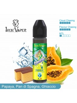 IRON VAPER - AROMA SCOMPOSTO 20ML - CAPOEIRA PAPAYA EDITION