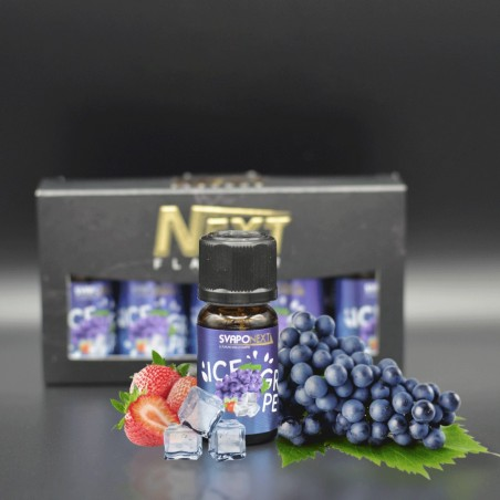 SVAPONEXT - AROMA 10ML - NEXT FLAVOUR - ICE GRAPE